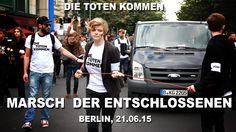 Marsch der Entschlossenen Zentrum für Politische Schönheit #dietotenkomm...