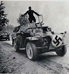 Armored Vehicles, Armored Car, Nazi Propaganda, Combat Gear, Military Pictures, Military Equipment, German Army, Panzer, Armed Forces