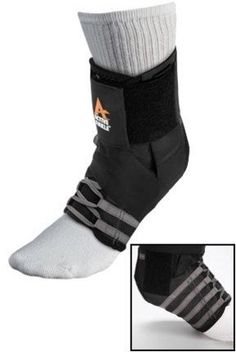 Active Ankle Excel Brace  Black Large by Cramer -- Click on the image for additional details.
