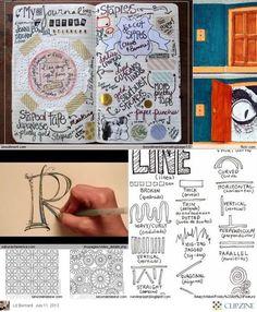 #papercraft #artjournaling Art Journal Ideas