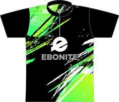 Ebonite Lime Grunge Dye Sublimated Jersey