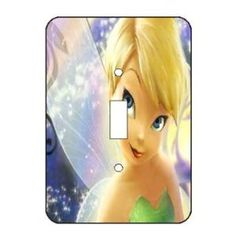 Disney Fairies Tinkerbell Themed Light Switch Plate Cover ~ Choose Your Cover ~