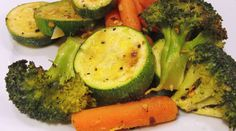 Paleo Vegetable Medley, A Light and Zesty Recipe for all Entrées -used cucumber in place of zucchini- Our Paleo Vegetable Medley is a zesty vegan side with lemon! Paleo Side Dishes, Vegetable Side Dishes, Vegetable Recipes, Roasted Veggies In Oven, Paleo Vegetables, Healthy Menu, Healthy Eating, Healthy Foods, Healthy Life