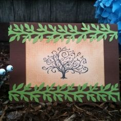 DIY Woodsy themed baby shower invitations!