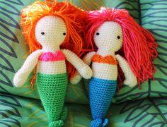 Amigurumi Sirens Free Crochet Doll Pattern