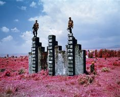 INFRARED WAR PHOTOGRAPHY BY RICHARD MOSSE