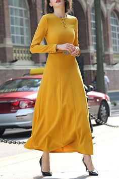 lovely this, A-Line Maxi Dress