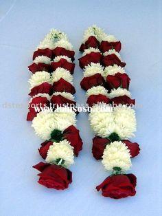 Traditional Indian flower garland www.sameepam.com