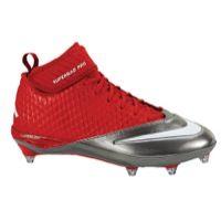 Nike Lunar Superbad Pro D - Men's - Tampa Bay Buccaneers - Red / Silver
