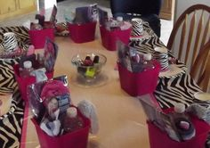 Cool loot bag ideas for spa sleepover party