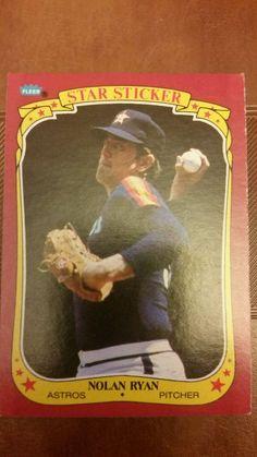 1986 fleer nolan ryan houston astros #102 baseball card from $1.09