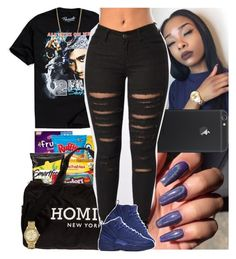 """""""Untitled #761"""" by msixo ❤ liked on Polyvore featuring Urban Outfitters, Reason, NIKE, Bianca Pratt and Bulova"""