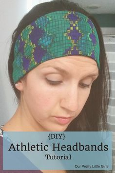 Athletic Headbands Tutorial  How to make them yourself and save a fortune.