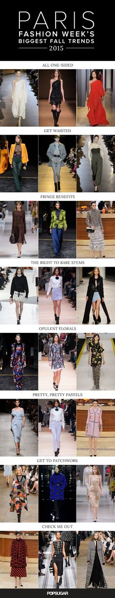 The 8 Hottest Trends to Come Out of Paris Fashion Week The biggest Fall 2015 trends from Paris Fashion Week Fall 2015 Trends, 2015 Fashion Trends, Fashion Week 2015, Winter Trends, Fall 2016, Fashion Moda, Love Fashion, Runway Fashion, Passion For Fashion