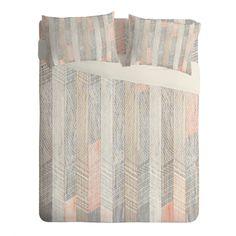 Iveta Abolina Farmhouse Peach Sheet Set Lightweight   DENY Designs Home Accessories