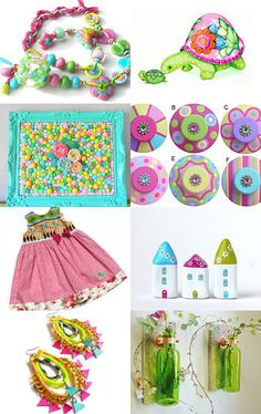 Bright Happy Colors, my favorite!--Pinned with TreasuryPin.com