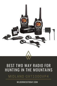 The Midland GXT1000VP4 is a 50-channel GMRS radio that can give you an amazing 36-mile range, though in practice and in the deep woods it's more on the order of 2 to 3 miles with great clarity. Find out more. Survival Gear List, Survival Gadgets, Bug Out Bag, Two Way Radio, Emergency Preparedness, Walkie Talkie, Clarity, Woods, Hunting