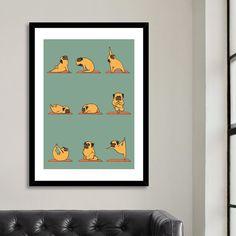 Art Prints by huebucket Giraffe, Elephant, Geometric Bear, Animal Art Prints, Yoga Art, Animal Kingdom, Lions, Pugs, Artwork