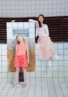 Kids fashion editorial for Hooaeg magazine ss16 / girls / models Style www.sandinyourshortskidsblog.com