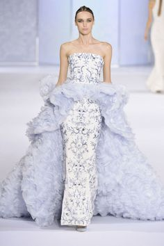 Paris Haute Couture Week: The highlights of Valentino, Dior, Chanel and more - . - Paris Haute Couture Week: The Highlights of Valentino, Dior, Chanel and More – # - Couture Week, Haute Couture Gowns, Style Haute Couture, Couture Trends, Couture Dresses, Chanel Couture, Fashion Week, Runway Fashion, Fashion Show