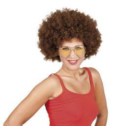 Hippie-Kostüm, 70er Jahre Style oder Disco-Boy aus den Sixties? Was bei diesen Verkleidungen nicht fehlen darf ist solch eine stilechte Afro-Perücke!