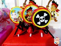 Minipaletas de Jake y los Piratas