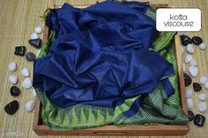 Sarees Contemporary Kota Viscose Silk Printed Saree  *Fabric* Saree - viscose silk, Blouse - viscose silk  *Size* Saree - 5.50 Mtr, Blouse - 1.00 Mtr  *Work* Printed  *Sizes Available* Free Size *   Catalog Rating: ★4.1 (250)  Catalog Name: Attractive Pretty Kota Viscose Silk Printed Sarees CatalogID_133607 C74-SC1004 Code: 195-1089226-