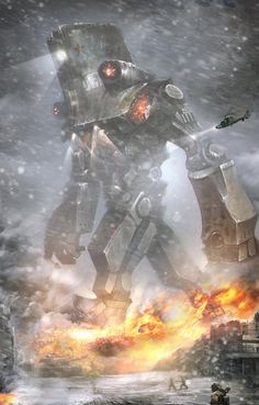 Pacific Rim - Jaeger by Chung Ling *