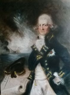 ARTFINDER: Lord Horatio Nelson (Oil on Canvas 40... by Jack Bagley - Half length portrait of Lord Nelson wearing civilian clothing rather then the often reproduced admiral uniform he is usually depicted in.   Loose brushwork...