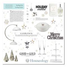 """WHITE CHRISTMAS"" by ironono ❤ liked on Polyvore featuring interior, interiors, interior design, home, home decor, interior decorating, Balmain, Tiffany & Co., Anja and Home"