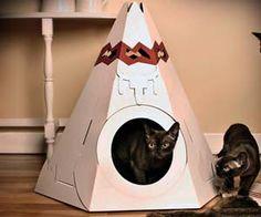 Suck UK Katten Speelhuis - 'Tipi Tent'