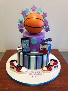 Basketball Birthday Cakes for Girls Girly Girl Basketball