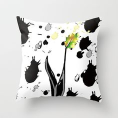 Last leaf standing Throw Pillow by sladja - $20.00 My Design, Throw Pillows, Toss Pillows, Cushions, Decorative Pillows, Decor Pillows, Scatter Cushions