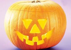 Follow our four easy steps to carve your very own jack-o'-lantern pumpkin for Halloween