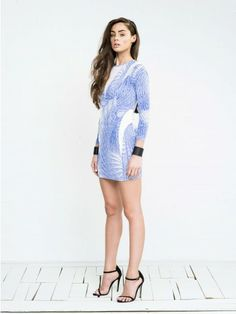 Blessed Are The Meek Soundwave Dress - also in black
