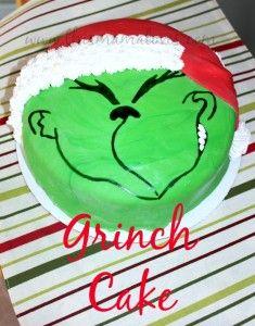 Fondant Grinch Cake Recipe