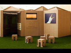 Stand de cartón. Conama 2014. Cardboard design by Cartonlab.