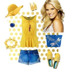 """Another beach set (looking for summer)"" by besyata on Polyvore"
