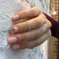 Trendy summer nail designs for short nails - Nail Art Connect # shortnails # summe . # for # nails These beautiful, noble white. Cute Nail Art Designs, Short Nail Designs, Gel Nail Designs, Simple Nail Designs, Designs For Nails, Summer Nail Designs, Natural Nail Designs, Solid Color Nails, Nail Colors