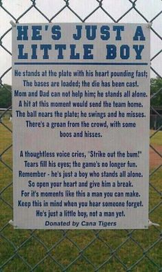 Something to keep in mind as we are cheering for our kids this season!!!  Posted from Crystal Lake Little League Baseball, Crystal Lake, IL Facebook Page