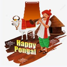 Happy Pongal Wishes, Clipart Images, Cow, Thankful, Clip Art, Disney Princess, Disney Characters, Illustration, Free