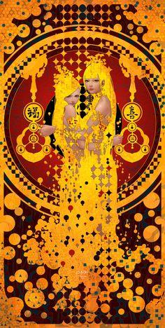 ArtStation - The Goddess of Door, Casimir Lee