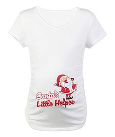 Announce an impending arrival to the world by sporting this quippy and quirky graphic tee. This soft cotton piece is cozy and lightweight, ensuring a perfect fit from the get-go, while side ruching flatters curves and grows with budding bellies.