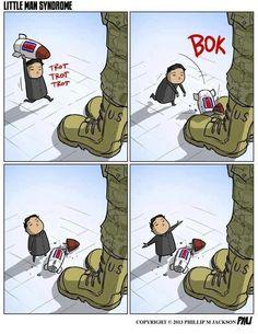 Das Kleine-Mann-Syndrom (erklärt am Beispiel Kim Jong Un)