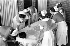 Pilgrim State Hospital, Brentwood, NY, Nurses strapping a mental patient into a bathtub. Continuous-glow bathing was used to calm down patients and with their bodies greased, they could remain in the tub for hours and gradually fall asleep. Psychiatric Medications, Psychiatric Hospital, Mental Asylum, Insane Asylum, Pilgrim State Hospital, The Afflicted, Life Cover, The Dark World, Photo Essay