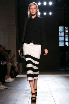 A look from the Victoria Beckham Spring 2015 RTW collection.