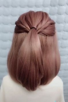 Long Hair Wigs, Cute Hairstyles For Short Hair, Braids For Long Hair, Hairstyles For Long Dresses, Braiding Short Hair, Braided Hairstyles For Short Hair, Classy Hairstyles, Beautiful Hairstyles, Braided Ponytail