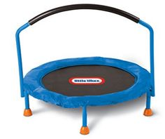 """Little Tikes 3 ft. Trampoline - Little Tikes - Toys """"R"""" Us Little Tikes Trampoline, Toddler Trampoline, Best Trampoline, Backyard Trampoline, Trampoline Sale, Outdoor Toys, Outdoor Play, Indoor Outdoor, Fantasy"""