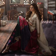 Mahira's relationship with the camera is almost unparalleled - watching her during the shoot was mesmerizing as she effortless captured the… Pakistani Couture, Pakistani Outfits, Indian Outfits, Pakistani Clothing, Designer Kurtis, Designer Dresses, Casual Dresses, Fashion Dresses, Girls Dresses