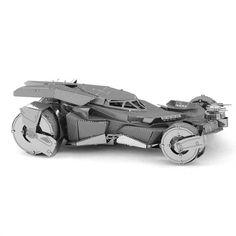 Batman v superman batmobile 3d câu đố kim loại cho người lớn/trẻ em diy mô hình lắp ráp xe creative kids đồ chơi cho boy